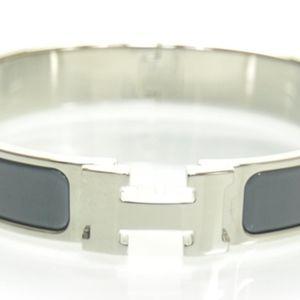Hermes Grey H Bracelet